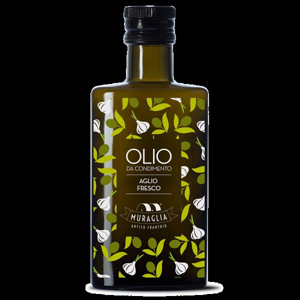 Italiaanse olijfolie knoflook