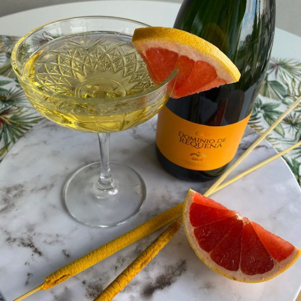 Champagne coupe cocktail glas