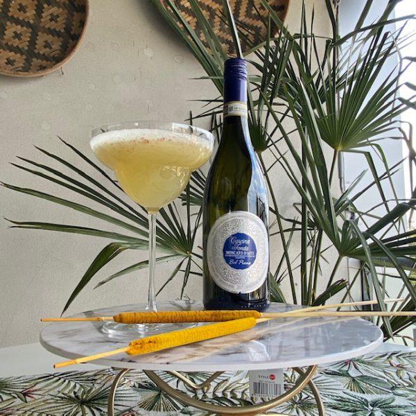 Margarita glas : cocktail glas