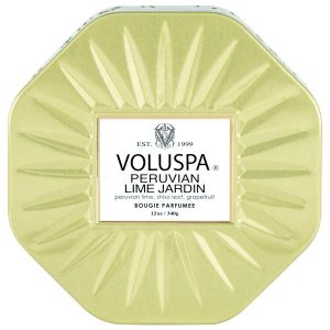 Voluspa Peruvian Lima Octagon Tin
