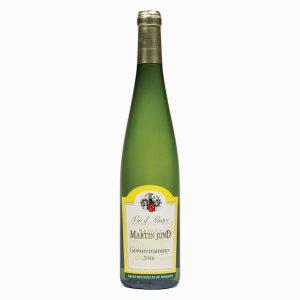 Stevige, kruidige en vol aromatische Gewurztraminer. Precies wat je van deze druif verwacht uit de Alsace. Wijn/spijs combinatie met deze Gewurztraminer Martin Jund Super bij pate, escargots en pittige Aziatische gerechten