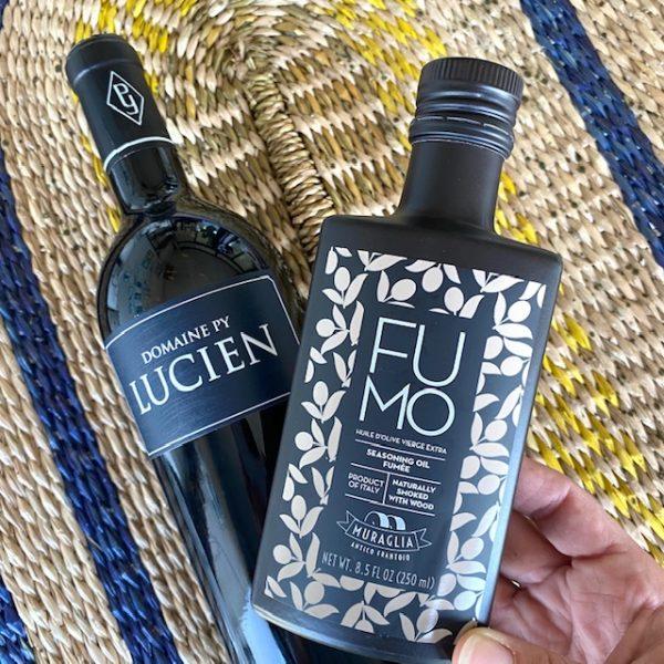 Vaderdag cadeau wijn en olijfolie