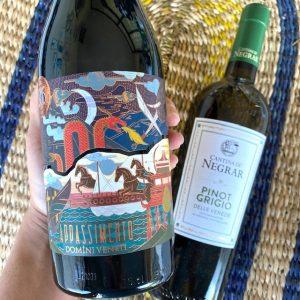 Vaderdagcadeau wijn. Italiaanse wijnen