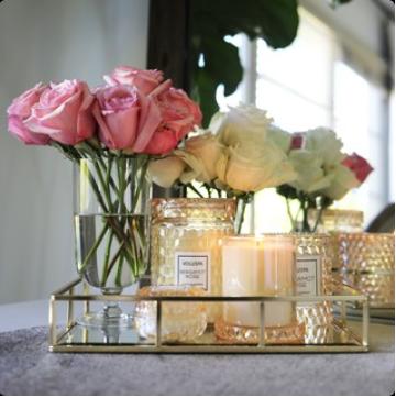 Voluspa collectie roses sfeerfoto