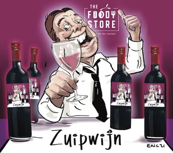Zuipwijn rood. De wijn voor feestjes en partijen. Makkelijk doordrinkbaar