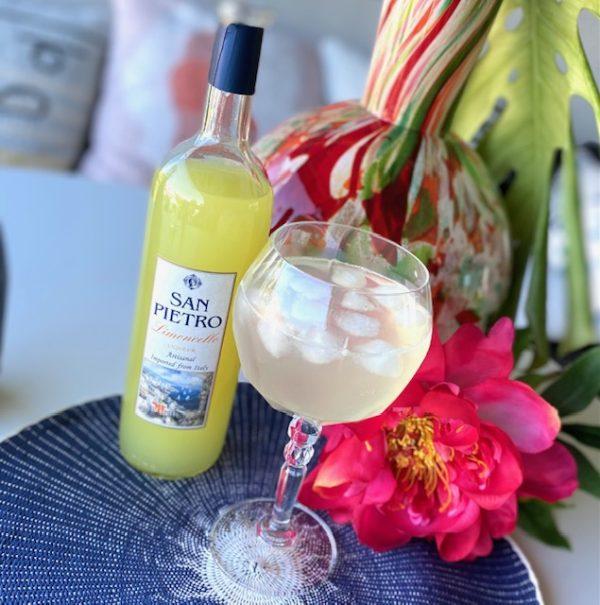 Limoncello spritz cocktailset